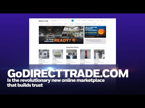 Buy used aerospace parts online with GoDirect Trade