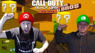Super Mario Bros. Zombies w/SoupyZ GameZ! - CAN WE SAVE THE PRINCESS!? (BO3 Custom Zombies)