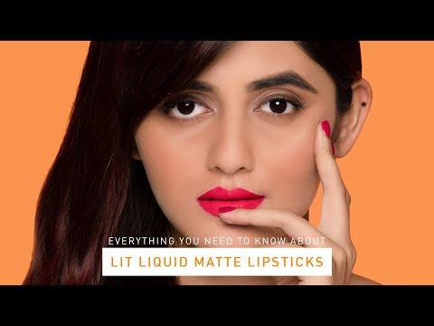 LIT Liquid Matte Lipsticks   Shivani Patil