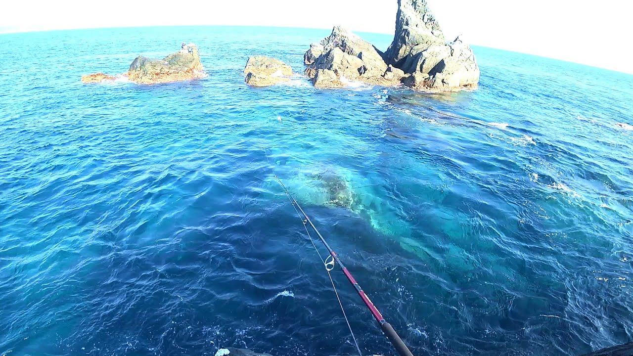 怪物だらけの海で本気の魚釣り。