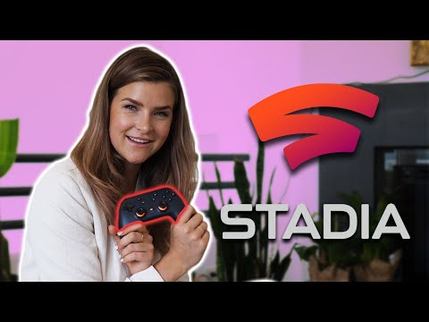 KittyPlays FIRST LOOK at GOOGLE STADIA Founder's Edition