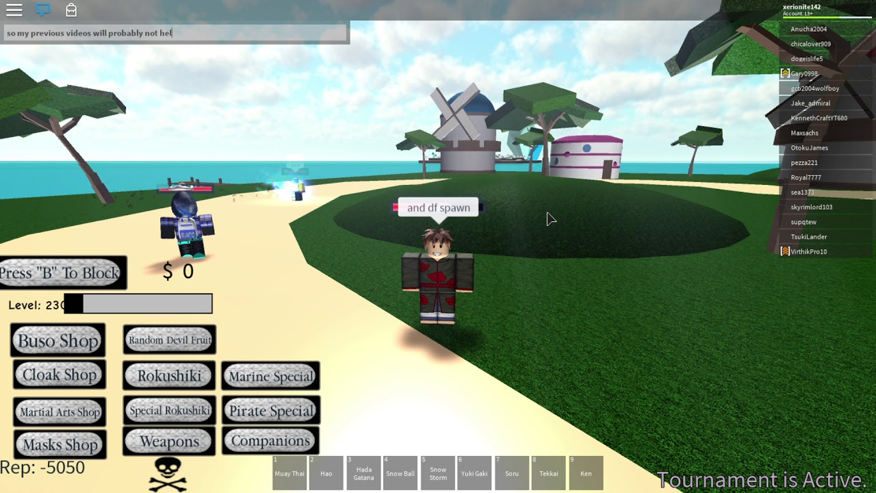 Roblox One Piece Sea Of Mystery New Map New Df Spawn Youtube