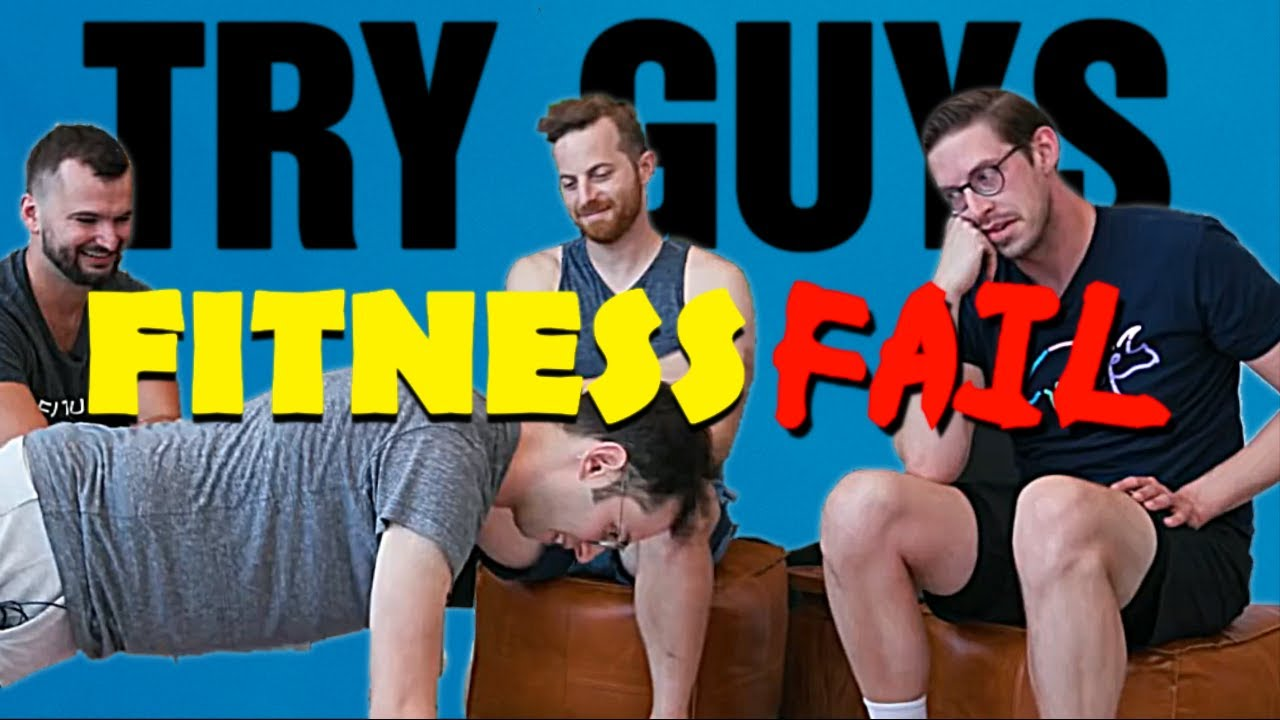 TRY GUYS || Failing At Fitness Harder Than Last Time 💪