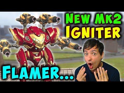 NEW 5.2 IGNITER SPECTRE MAX Gameplay War Robots Mk2 WR
