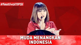 Download Video MUDA MENANGKAN INDONESIA (PIDATO LENGKAP KETUA UMUM PSI GRACE NATALIE DI FESTIVAL 11) MP3 3GP MP4