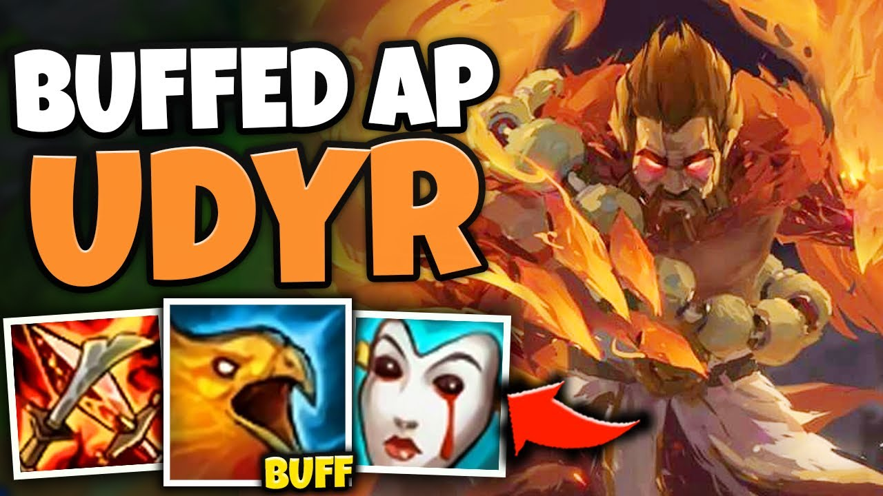 WTF?! THESE AP UDYR PHOENIX BUFFS MAKE HIM A LEGIT ASSASSIN! (CRAZY AOE) - League of Legends