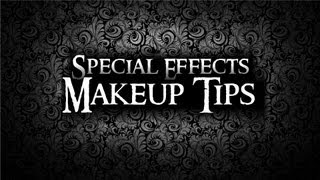 How to cover and hide eyebrows - Special Effects Makeup Tips