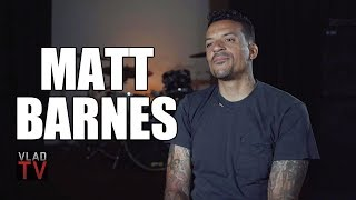 Matt Barnes on Parents Being Functional Addicts, Seeing Dad Get Robbed at Gunpoint (Part 1)