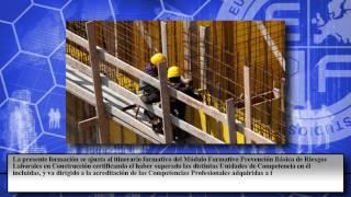 Mf1360_2 Prevencion Basica De Riesgos Laborales En Construccion A Distancia - Cursos Online
