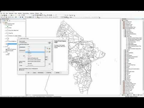 ArcGIS 10.2 - Create Random Points - create single or multiple points for each polygon