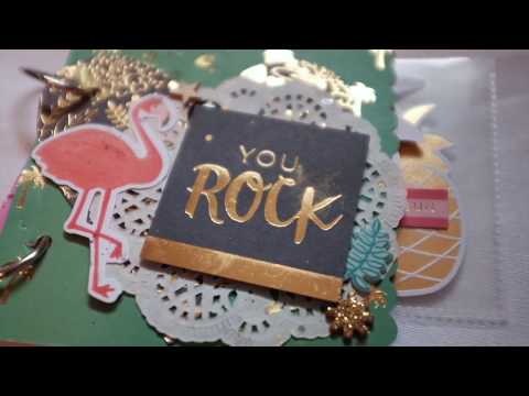 Flipbook Process Video #17 (MY MIND'S EYE - PALM BEACH) /// Snail Mail Saturday #9