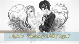 Video Nightcore - Beautiful in White [Lyrics] download MP3, 3GP, MP4, WEBM, AVI, FLV Maret 2018