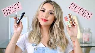 TOP 5 DRUGSTORE DUPES FOR HIGH END BEAUTY! ALEXANDREA GARZA