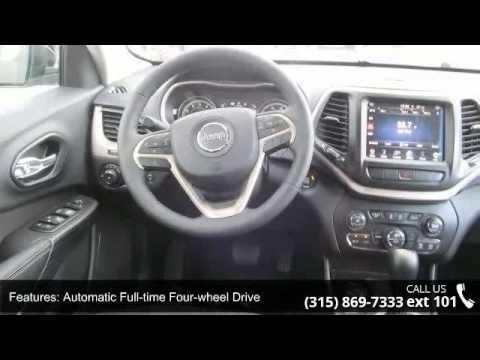 2015 Jeep Cherokee Latitude Fuccillo Dodge Adams Ny