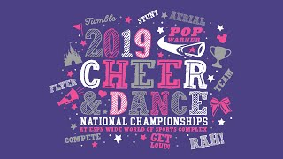 2019 National Cheerleading Championships (12/8/2019)