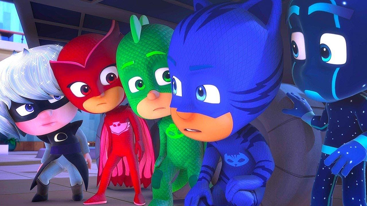 PJ Masks Season 2 ❤️HEROES and VILLAINS ????PJ Masks 2019 ⭐️4K HD | Superhero Cartoons for Kids