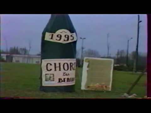 CHOREY LES BEAUNE SAINT VINCENT TOURNANTE 1995