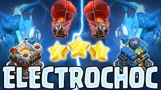 LA TECHNIQUE D'ATTAQUE LA PLUS PUISSANTE HDV 11 & 12 | Électro dragon, Ballon | Clash of clans
