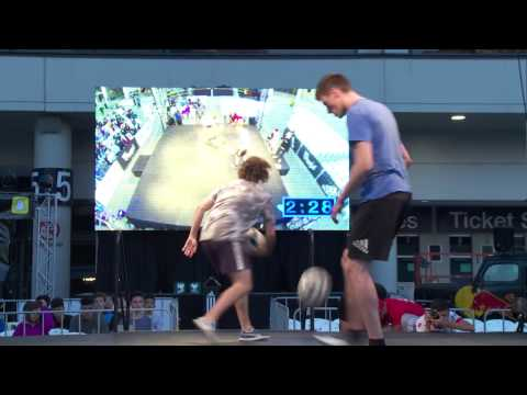 Dylan vs Damian - 3rd Place Battle | Oceania Freestyle Football Championships 2016