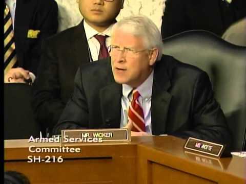 Wicker Questions Secretary Hagel and General Dempsey on Russian Involvement in Ukraine