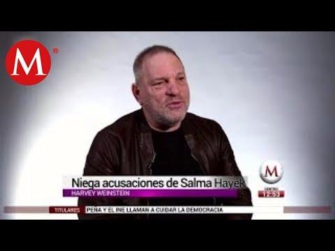 Así le respondió Harvey Weinstein a Salma Hayek tras acusaciones