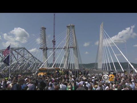Cuomo Christens New Gov. Mario Cuomo Bridge