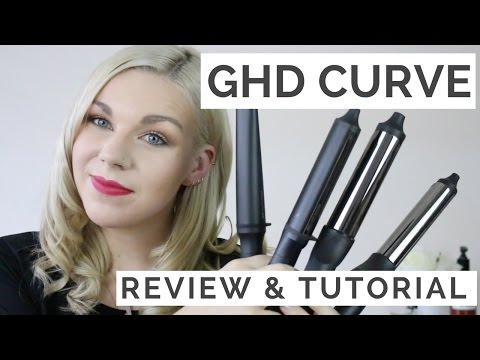 GHD Curve Curler Range | REVIEW & TUTORIAL