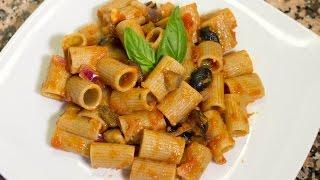Pasta Con Sugo Di Melanzane - Ricetta Vegan