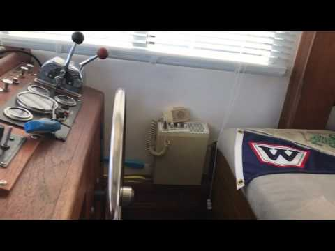 "1981 Willard 40 Trawler ""Cavu"" Edwards Yacht Sales"
