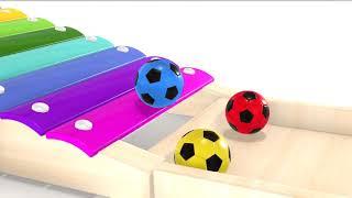 Мы учим цвета, наряду с красочными плоскостями Образование для маленьких