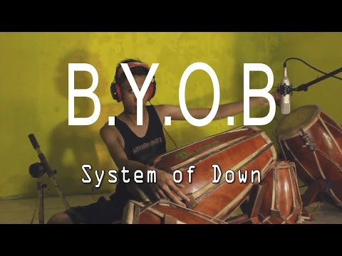 """""""System Of Down - B.Y.O.B"""" Kendang Cover By Risang Gotho 100% MetaL!!!"""