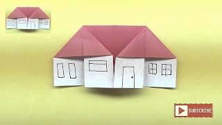 Cara Membuat Origami Rumah