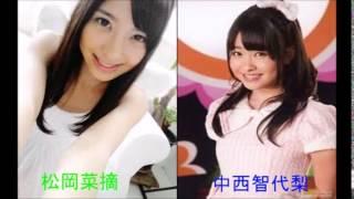 HKT48!中西智代梨&松岡菜摘が過去の体験談を暴露しちゃってますww ...