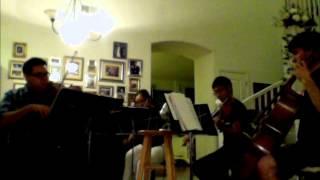 "Sigur Ros ""Untitled 3"" Mersonacta String Quartet covers acoustic version"