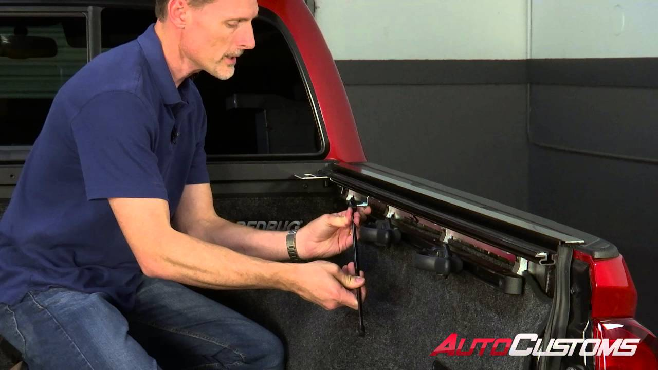 How To Install Bakflip Tonneau Cover At Autocustoms Com Youtube