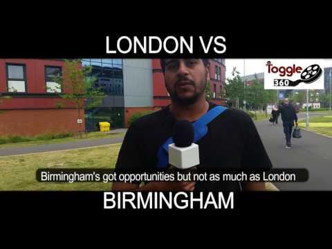 Birmingham Vs London Grad Jobs - Who Wins?