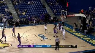 Highlights   JMU Men's Basketball at Delaware