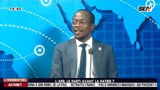 Crise à l'APR : débat houleux entre Serigne S. GUEYE et le député Abdou Mbow  ...