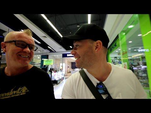 Cell Phone Taser At The Mall?? Phuket Thailand | VLOG #107