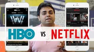HBO vs Netflix Mobile App Challenge