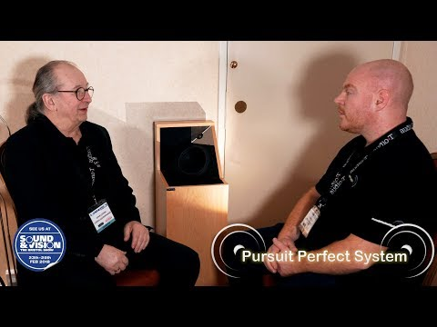 Larsen LoudSpeakers - John Larsen talks about his unique HiFi Speakers @ Bristol Show 2018