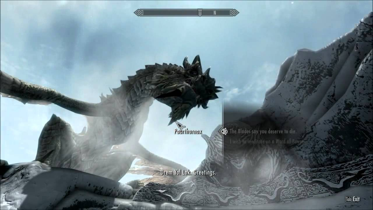 Skyrim How To Resurrect Paarthurnax Pc Only Youtube