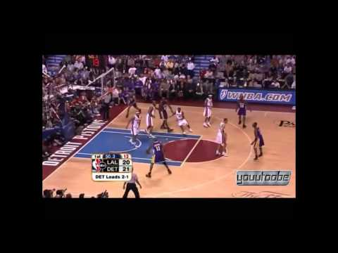 Karl Malone   Last Career Points 2004 NBA Finals