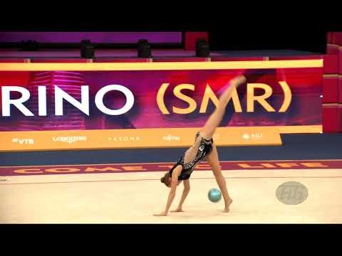GARBARINO Monica (SMR) - 2019 Rhythmic Worlds, Baku (AZE) - Qualifications Ball