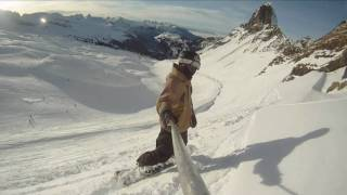 GoPro HD Snowboarding - Alps - Flaine - Christmas 2010