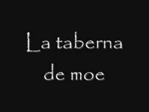 Olvidaste lo qu fuiste - La taberna De Moe