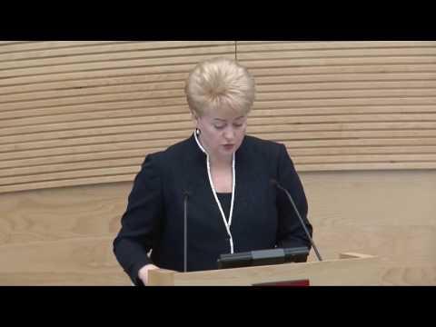 Dalia Grybauskaitė | Kas geresnio premjere?