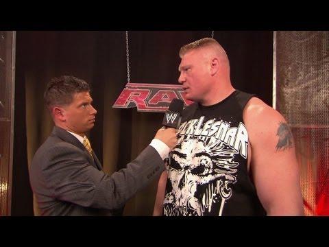 Brock Lesnar describes what he'll do to John Cena at
