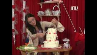 Золушка-шоу -  торт из полотенец