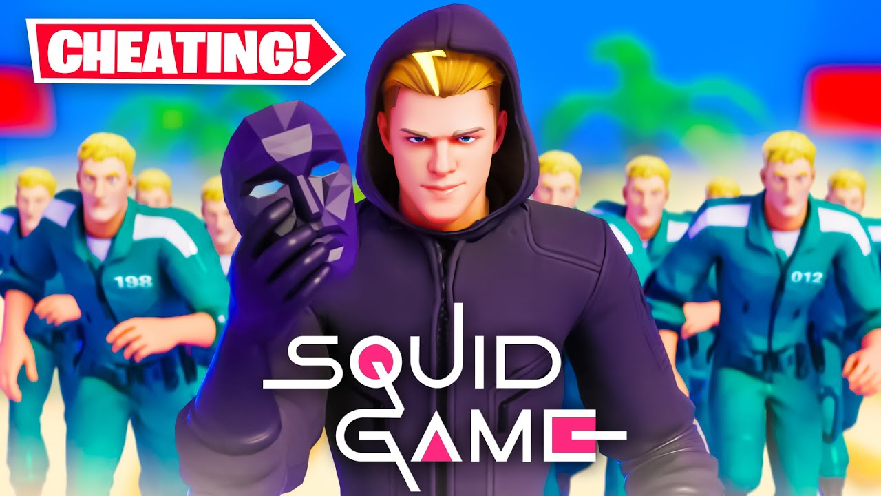 Download CHEATING in Fortnite SQUID GAME!